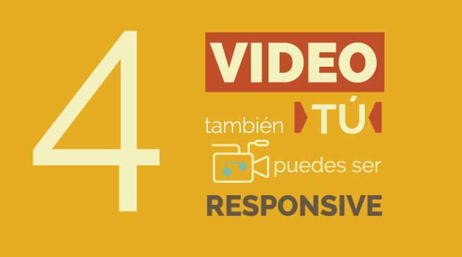 Video en diseño web responsive