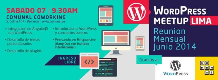 WordPress Lima (Perú) así lo vivimos! • Silo Creativo