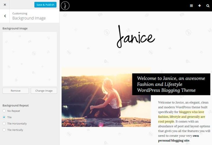 Conociendo a Janice: Nuestra plantilla de WordPress para bloggers de ...