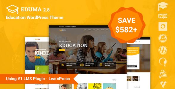 Portfolio de cursos y formación tema WordPress