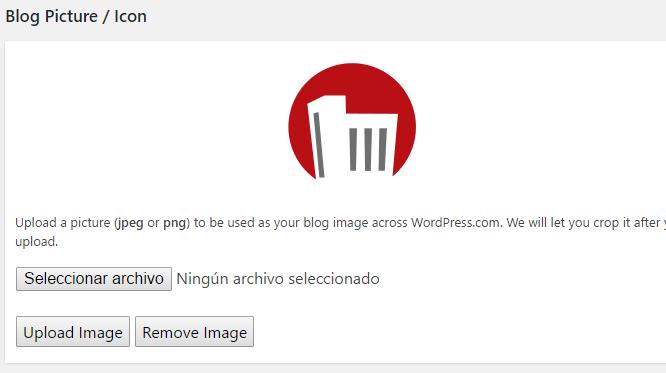 Añadir favicon a WordPress.com
