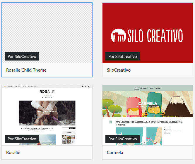Temas Hijos en WordPress. Qué son y cómo crearlos • SiloCreativo