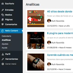 Nelio Software blog analítica WordPress