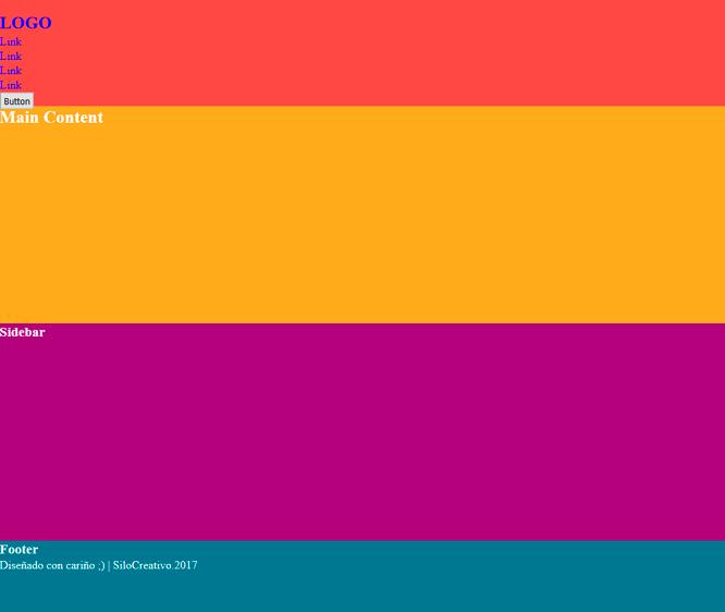 Flexbox vs css grid un ejemplo prctico silocreativo html base para trabajar en con flexbox y css grid malvernweather Images