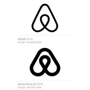 Inspiración logo de Air B'n'B