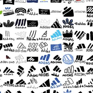 Dibujos del icono de Adidas