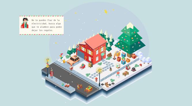 Juego de Navidad con HTML y CSS