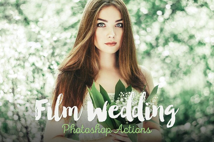 Film Wedding, acciones de Photoshop para bodas