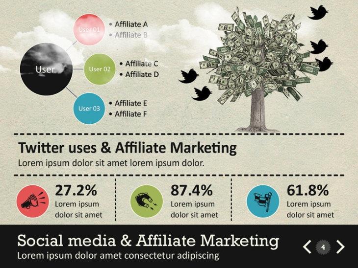 Infographic Survey, plantilla original para PowerPoint