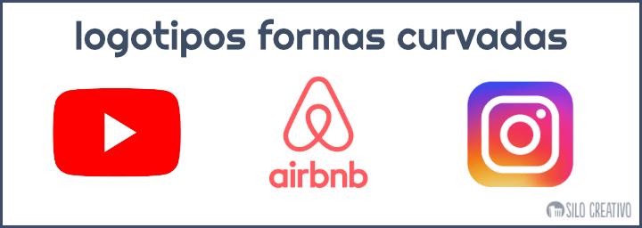 logotipos formas curvas ejemplos
