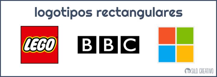 logotipos rectagulares ejemplos