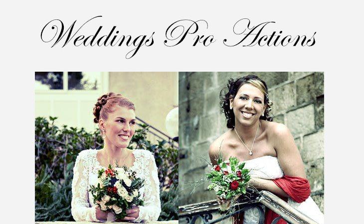 Wedding Pro Actions, acciones de Photoshop para bodas