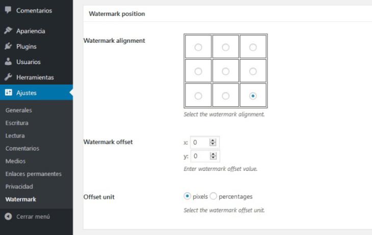 image watermark plugin wordpress