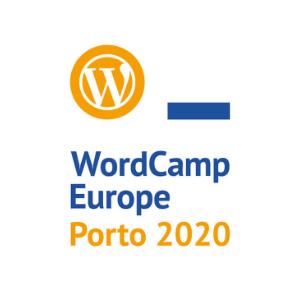 logo de la wordcamp 2020 en oporto