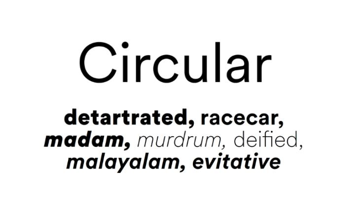 Circular, tipografía geométrica para tus proyectos