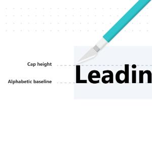 propiedad leading trim css en tipografias