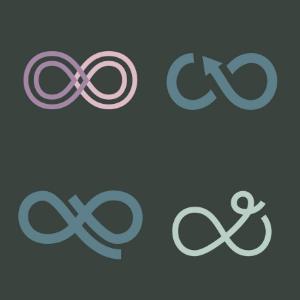variaciones de logotipos
