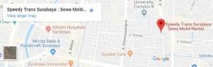Alamat Rental Mobil di Surabaya