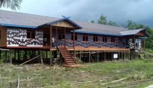 7 Rumah Adat Kalimantan Tengah, Gambar, Nama dan Keterangannya