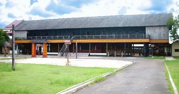 Rumah Tradisional Kalimantan Barat