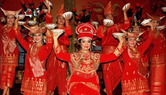 Tarian Piring Kubu Durian Padang Sumatera Barat
