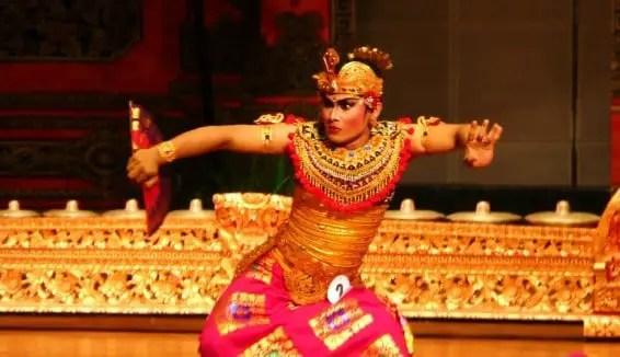 Info tentang Tari Kebyar Duduk Bali dan posisinya
