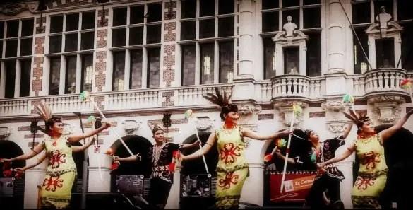Ulasan mengenai Tari Giring - Giring Kalimantan Selatan dan sejarahnya