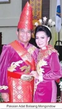 Uraian Terkait dengan Pakaian Bolaang Mongondow Sulawesi Utara dan Sejarahnya