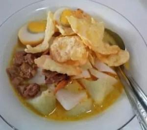 Info Makanan Khas Jawa Barat yang bernama Lontong Kari