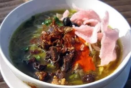 Info tentang Makanan Tradisional Soto Padang Sumatera Barat yang lezat rasanya