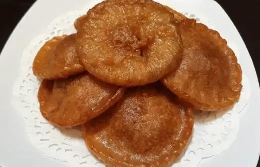 Review tentang Makanan Kue Cucur Khas Bengkulu yang lezat sekali rasanya