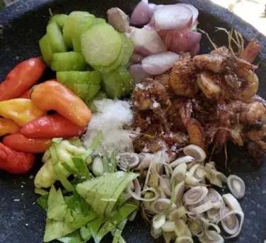 Review tentang Masakan Sambal Ganja Tradisional Aceh yang pedas mantap
