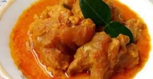 Uraian tentang Makanan Terkait Gulai Tunjang Tradisional Sumatera Barat yang enak sekali
