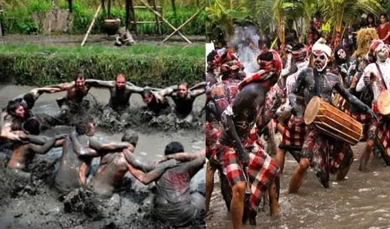 Ulasan terkait dengan Mepantigan Upacara Adat Bali