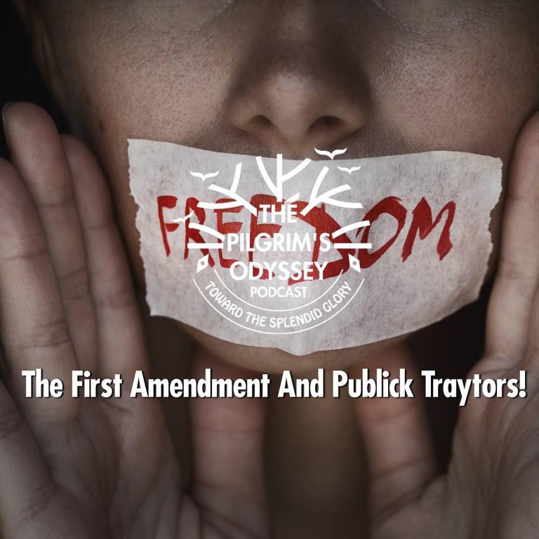 The First Amendment And Publick Traytors!