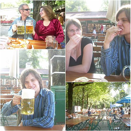 Biergartenkultur (Hirschgarten in Laim)