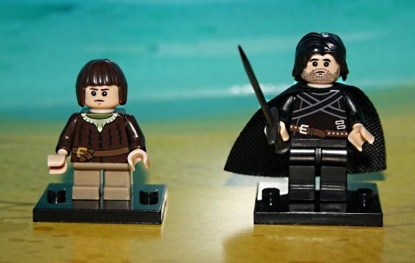 Arya Stark, Jon Snow