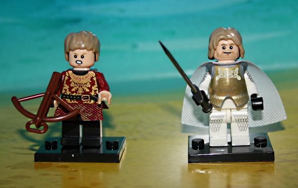 Goffrey Lannister, Jamie Lannister