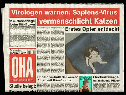Zeitungs - Generator (3/3)