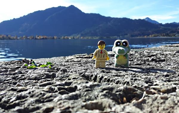 Herr W. und Herbert am Tegernsee