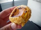 Taiwan version of the Portuguese custard pie