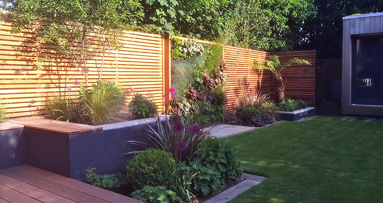 Building A Slatted Screen Fence Silva Timber