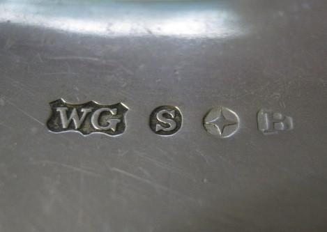 Can Anyone Identify Wg S Star B Reading Silver Hallmarks