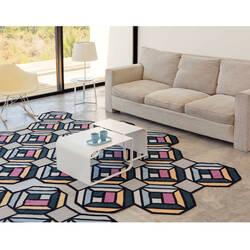 tapis parquet tetragon