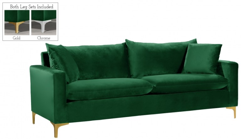 Naomi Green Sofa