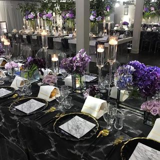 Table and chair decoration for events