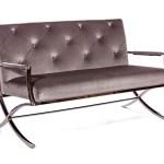 Cosmopolitan Love Seat Grey
