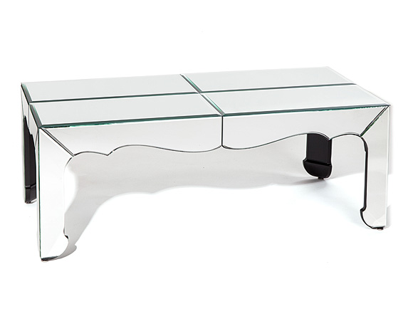 Silhouette Mirrored Coffee Table
