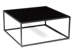 Mod Black Square Coffee Table