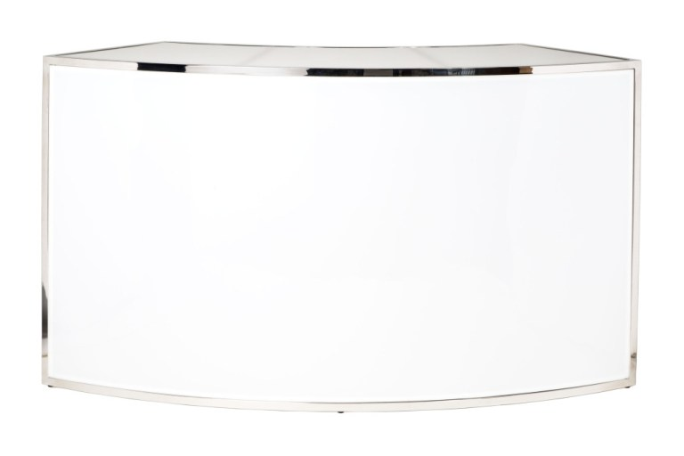Uno Curved Bar White